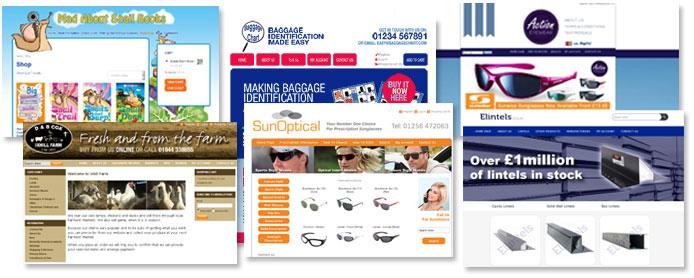 Ecommerce web designers in Alton Hampshire