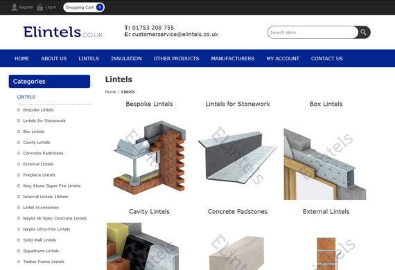 Building Supplies E-commerce Website