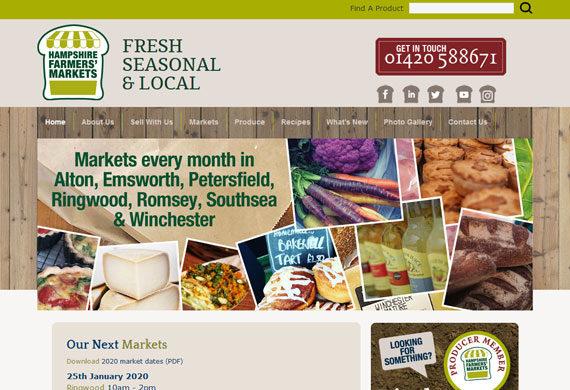 Hampshire Farmers' Markets