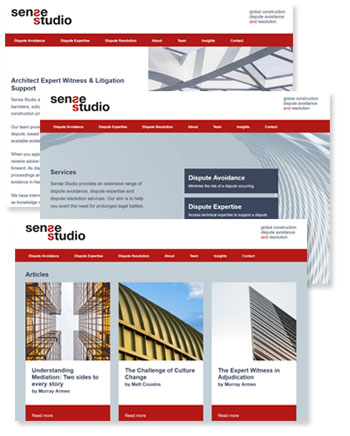 Webdesigner for Architects