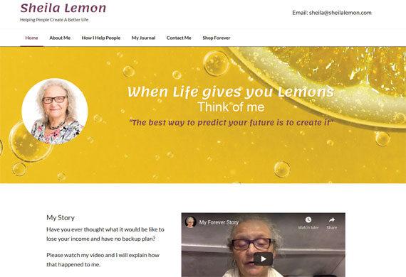 Website design for network marketing