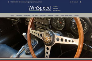 Website Design For Classic Car Specialists