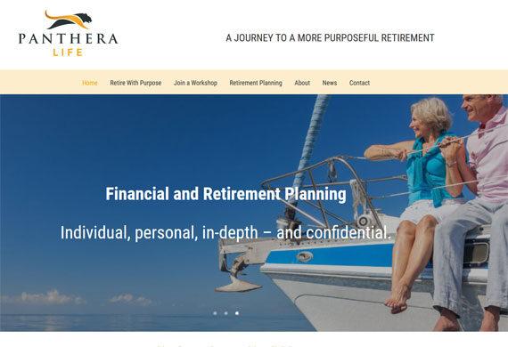 Retirement Coaching Website